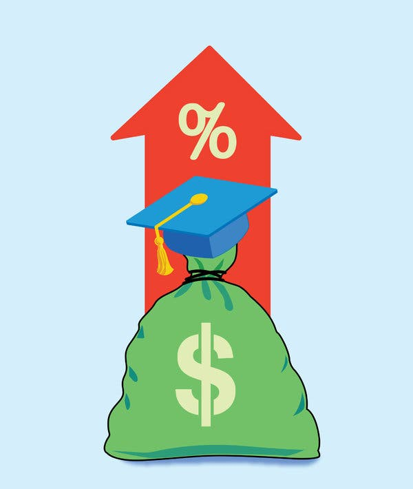 Parent loan for undergraduate students clipart graphic library Student Loan Rates Are Rising. Here\'s What You Need to Know. - The ... graphic library