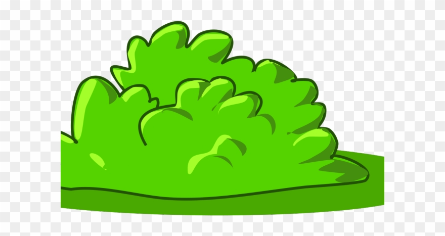 Green clipart shrubs library Bushes Clipart Svg - Cartoon Shrub - Png Download (#679767) - PinClipart library