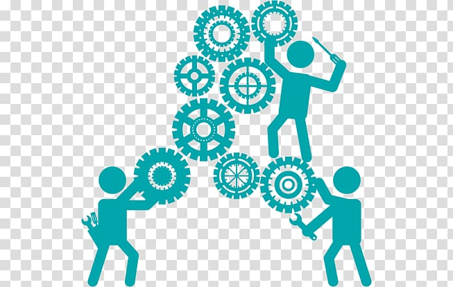 Clipart business technology svg library library Teamwork Business Technology Resource Industry, cooperation team ... svg library library