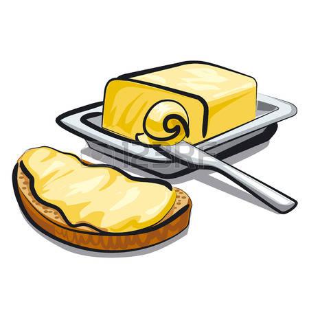 Clipart butter
