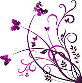 Clipart butterfly border purple banner freeuse download Butterfly Clipart Border | Free download best Butterfly Clipart ... banner freeuse download