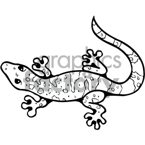 Clipart bw banner library download cartoon clipart gecko 005 bw . Royalty-free clipart # 404808 banner library download