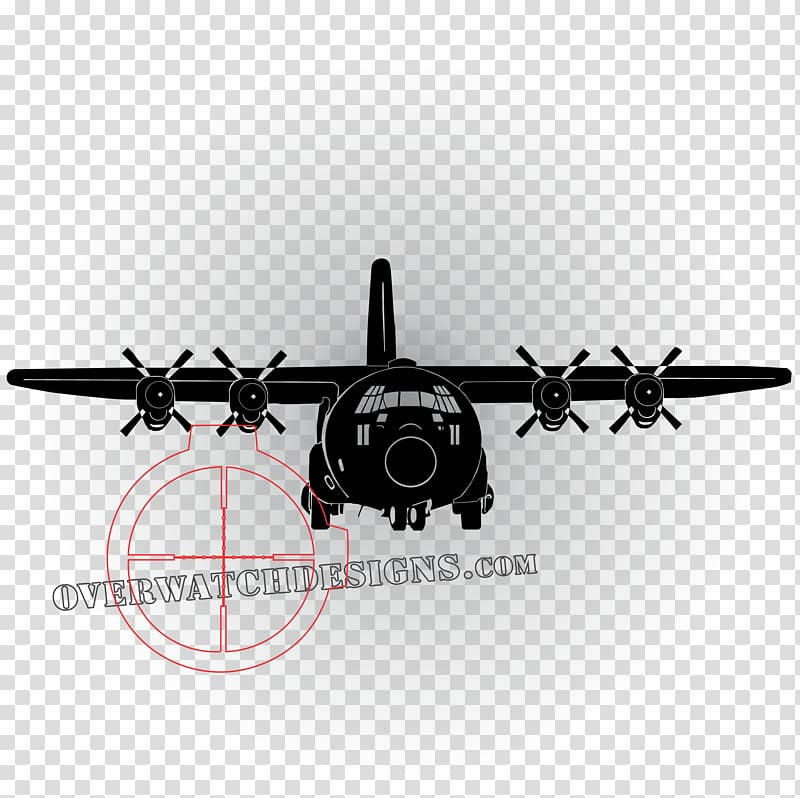 Clipart c-130 graphic royalty free library Lockheed C-130 Hercules Airplane Lockheed AC-130 Aircraft Decal ... graphic royalty free library
