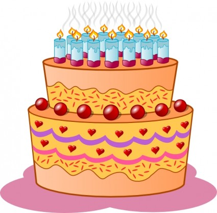 Clipart cake birthday image free download Birthday Cakes Clip Art & Birthday Cakes Clip Art Clip Art Images ... image free download