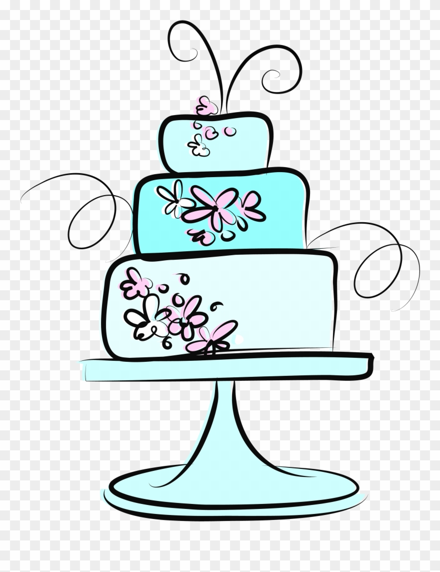Clipart cake design wedding cake png freeuse stock Wedding Cake F - Wedding Cake Clipart (#2192616) - PinClipart png freeuse stock