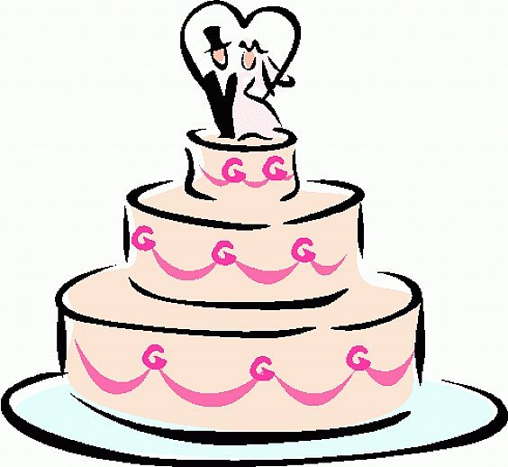 Wedding cake clipart free vector library Wedding Cake Clip Art Designs | ComeBG. - Cliparts.co vector library