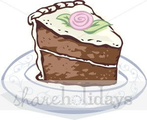 Clipart cake slice png free download Chocolate Cake Slice Clipart   Birthday Cake Clipart png free download