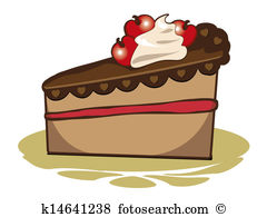 Clipart cake slice png free library Cake slice Stock Illustration Images. 569 cake slice illustrations ... png free library