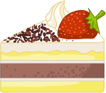 Clipart cake slice clip free Clip Art Slice Of Chocolate Cake Clipart - Clipart Kid clip free