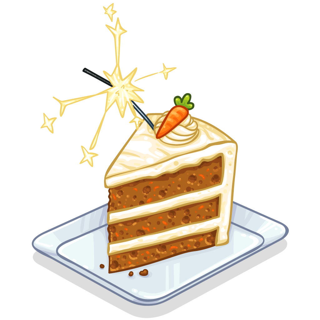 Clipart slice of cake png library Item Detail - Slice of Carrot Cake :: ItemBrowser :: ItemBrowser png library