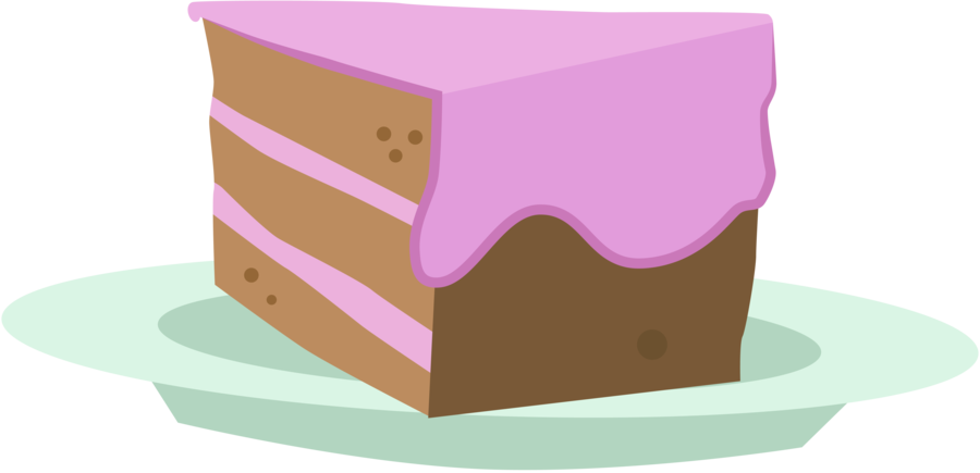Slice of cake clipart image transparent download Image - FANMADE Slice of Cake.png   My Little Pony Friendship is ... image transparent download