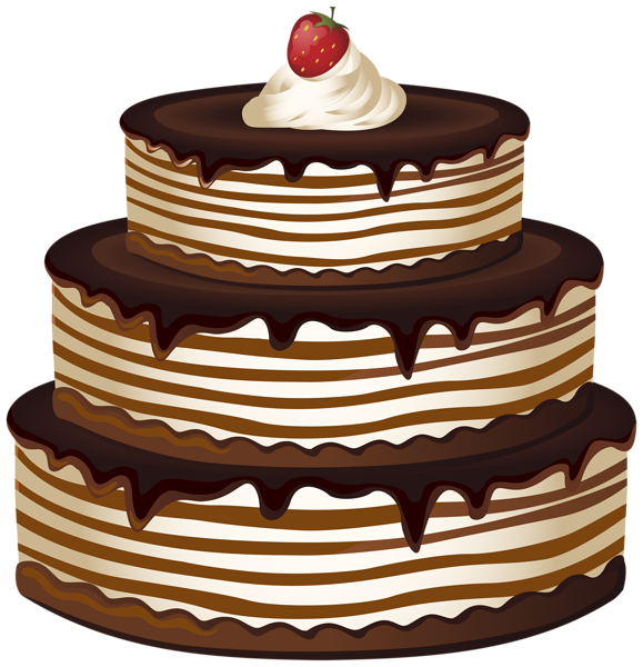 Vintage 3 tier 60 anniversary cake clipart png clip art transparent download Cakes Clipart | Free download best Cakes Clipart on ClipArtMag.com clip art transparent download