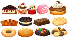 Clipart cakes and biscuits vector library stock Clipart Cakes And Biscuits vector library stock
