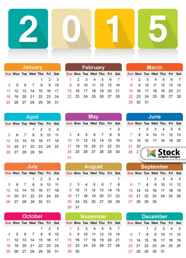 Clipart calendar august 2015 clip art freeuse download Free clipart calendar 2015 - ClipartFest clip art freeuse download