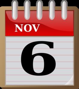 Clipart calendar november.  clip art at