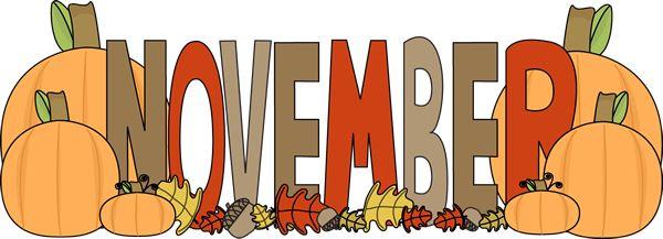 Clipart calendar november. Preschool clipartfest dabac