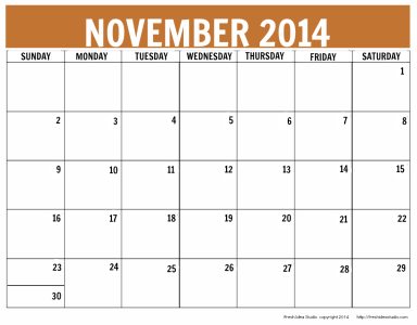 Clipart calendar november 2014 clip library download November 2014 Gallery clip library download