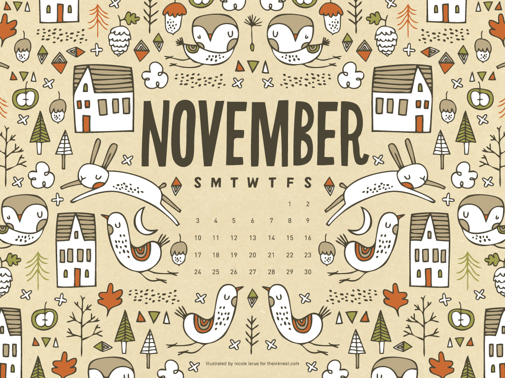 Clipart calendar november 2014 clip freeuse download November 2013 calendar clipart - ClipartFest clip freeuse download