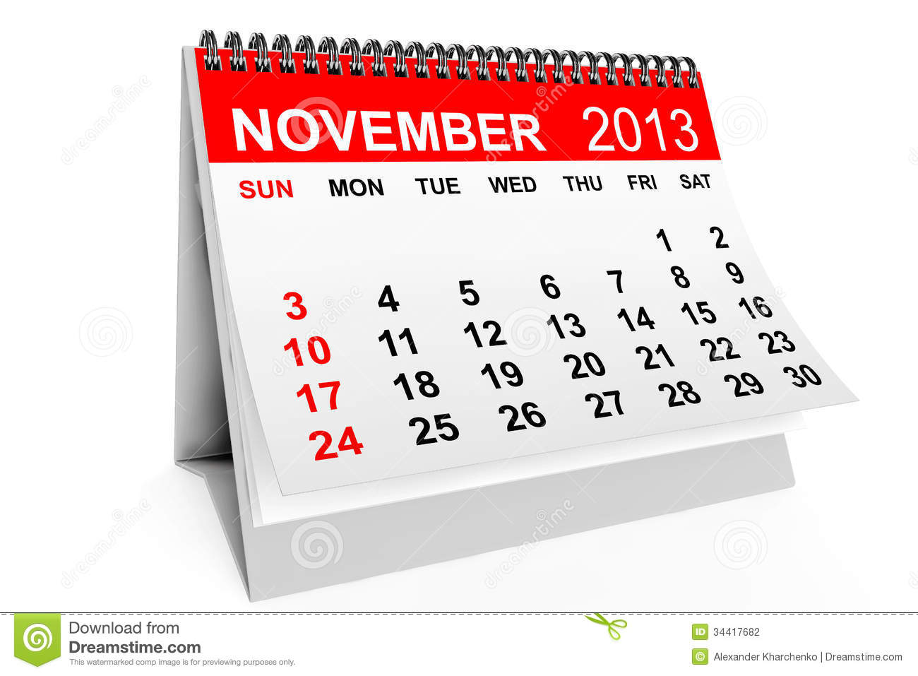 Clipartfest . Clipart calendar november