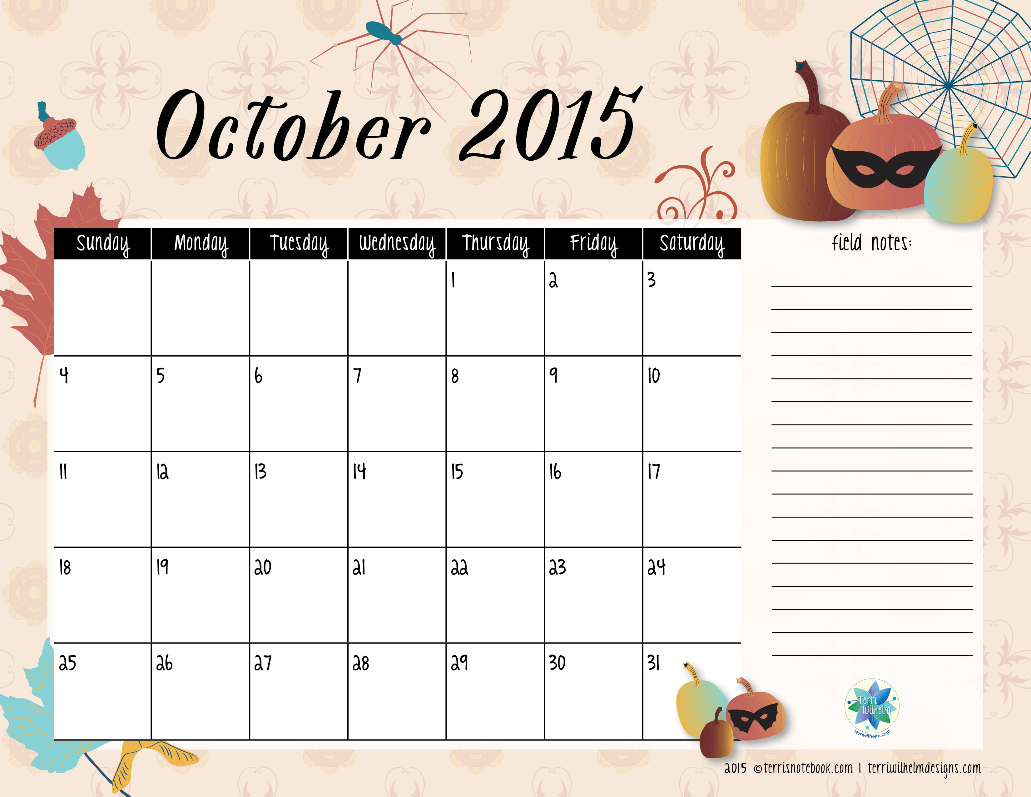 Clipart calendar october 2015 clip art royalty free library calendar October clip art royalty free library
