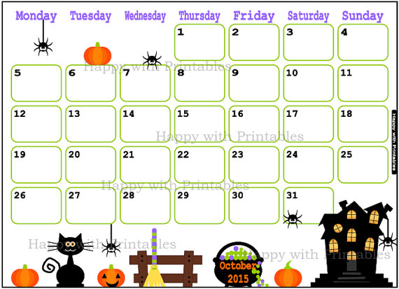 Clipart calendar october 2015 clipart royalty free library October 2015 calendar clipart - ClipartFest clipart royalty free library