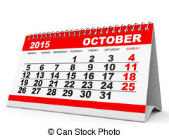 Clipart calendar october 2015 svg freeuse library October 2015 Illustrations and Clipart. 1,308 October 2015 royalty ... svg freeuse library