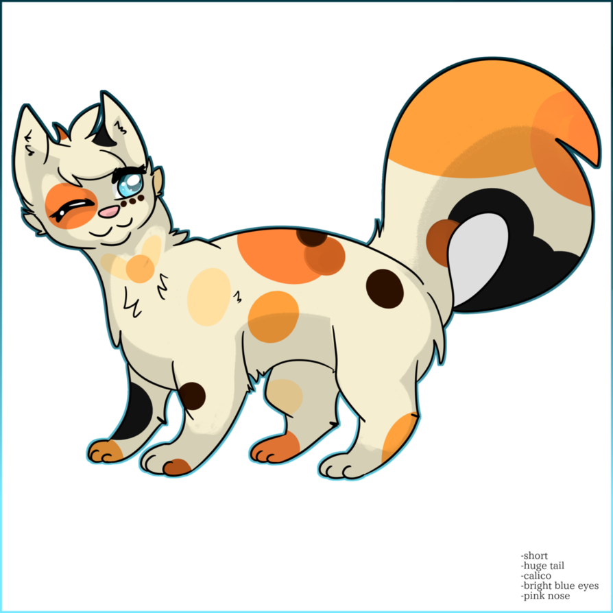 Clipart calico cat svg royalty free FREE / CLOSED] Adopt Calico Cat! by ClowderOrigins on DeviantArt svg royalty free