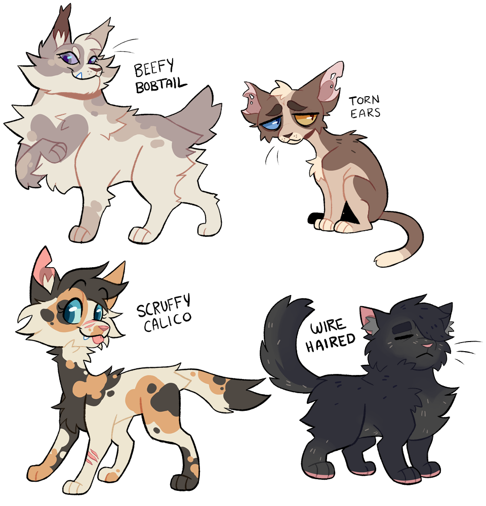 Clipart calico cat jpg freeuse stock warrior cat OTA adopts (closed!) by Sudsy -- Fur Affinity [dot] net jpg freeuse stock