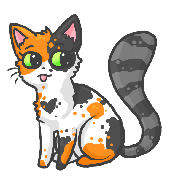 Clipart calico cat graphic library Calico Cat:. REQ by Thezangoosemoose on DeviantArt graphic library