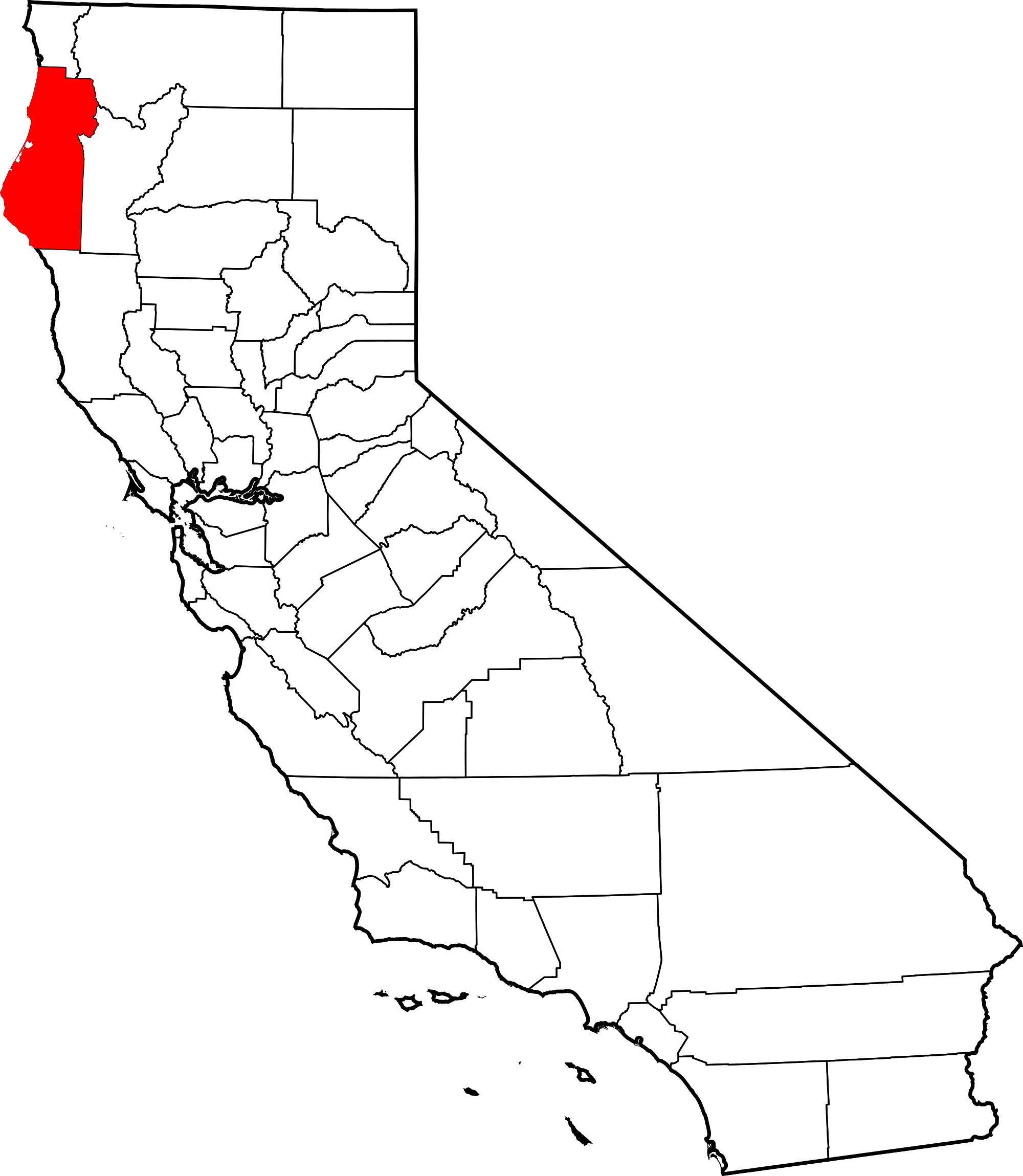 Clipart california map banner free download Clipart Map California Humboldt California Map | California Map 2018 banner free download