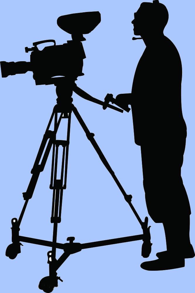 Clipart camera man png freeuse download Camera Operator Clip art - Cameraman silhouette png download - 665 ... png freeuse download
