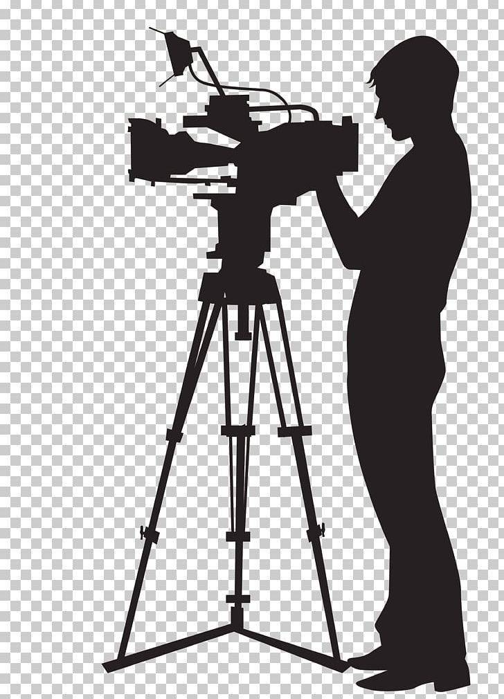 Man with camera clipart png royalty free library Camera Operator Video Camera PNG, Clipart, Angle, Art, Black And ... png royalty free library