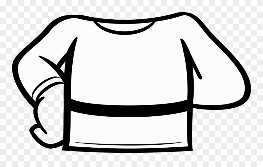 Clipart camisa svg black and white library Camisa 44 Costas Clipart (#3343831) - PinClipart svg black and white library
