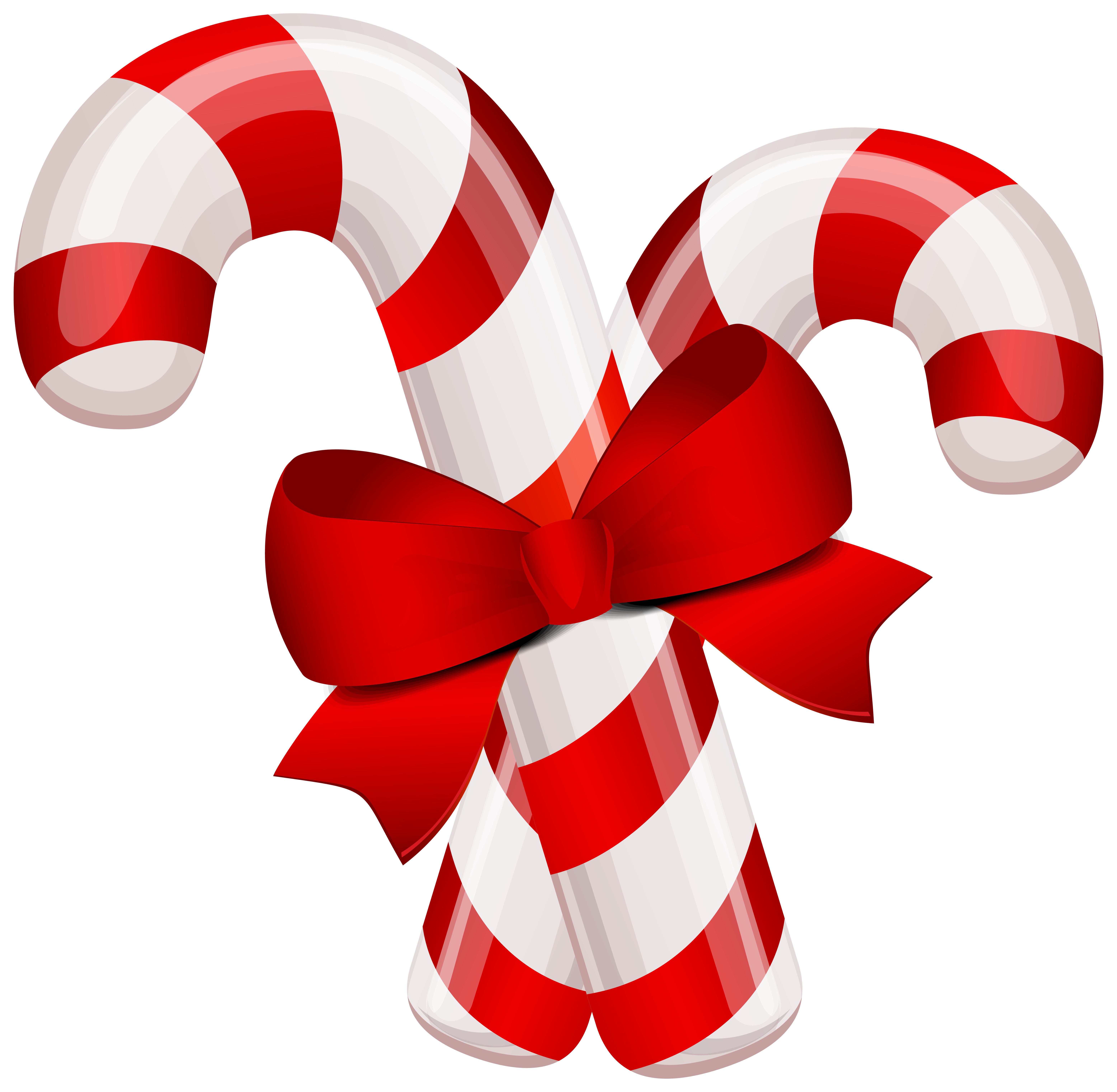 Clipart candy canes graphic transparent stock Christmas Classic Candy Canes PNG Clipart Image | Gallery ... graphic transparent stock