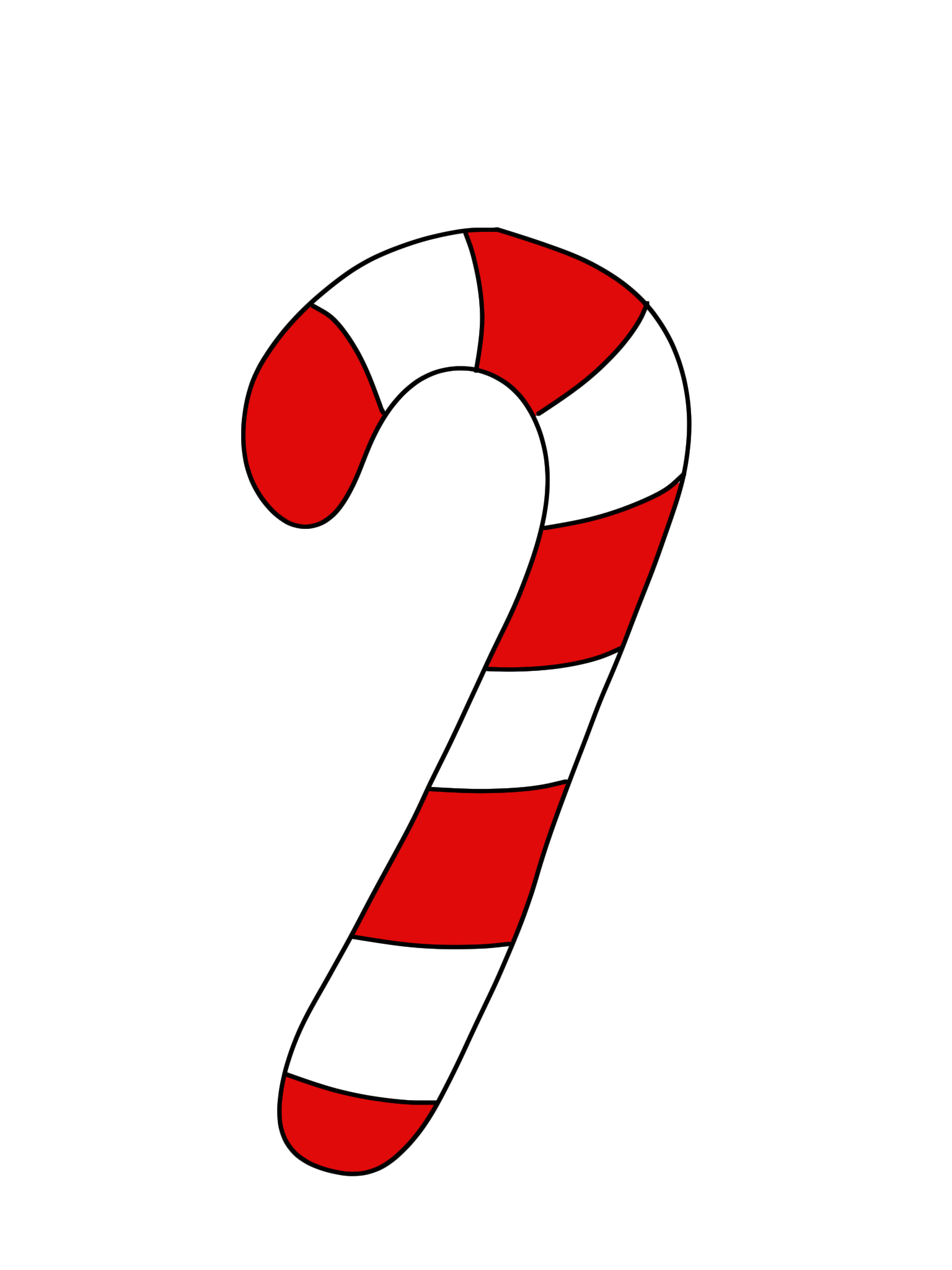 Candy cane clipart transparent background clip art black and white stock Free Pictures Of Candy Canes, Download Free Clip Art, Free Clip Art ... clip art black and white stock