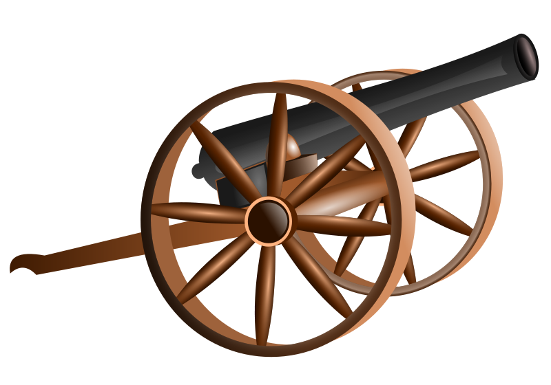 Clipart cannon free Free Clipart: Cannon   hatalar205 free
