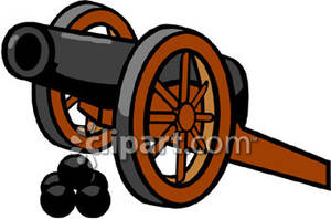 Clipart cannon image royalty free library Cannon Clip Art Royalty Free Clipart Picture image royalty free library