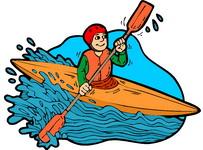 Clipart canoe kayak banner stock Free Canoeing Cliparts, Download Free Clip Art, Free Clip Art on ... banner stock