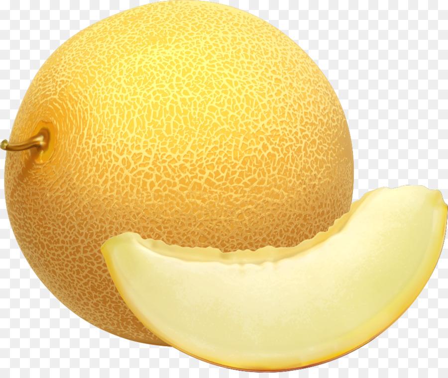 Clipart cantaloupe