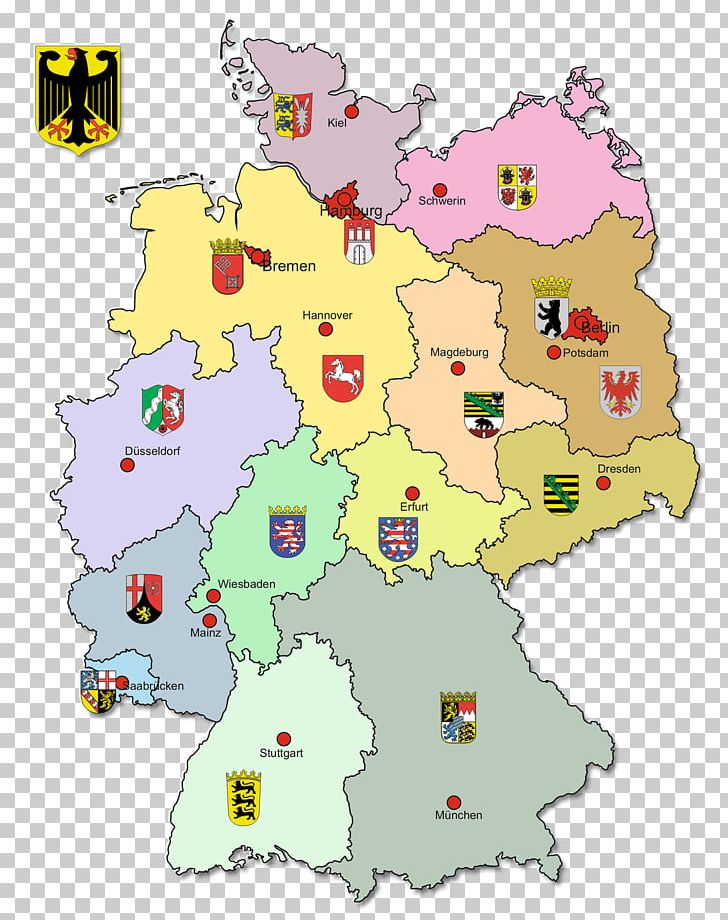 Clipart capital city png black and white library States Of Germany Map Capital City Geography Textil ONE GmbH PNG ... png black and white library