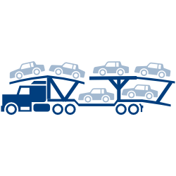 Clipart car carrier graphic transparent download Car Shipping Trailer Types Used by Crestline graphic transparent download