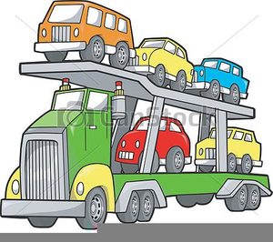 Clipart car carrier svg black and white Free Clipart Car Carrier | Free Images at Clker.com - vector clip ... svg black and white