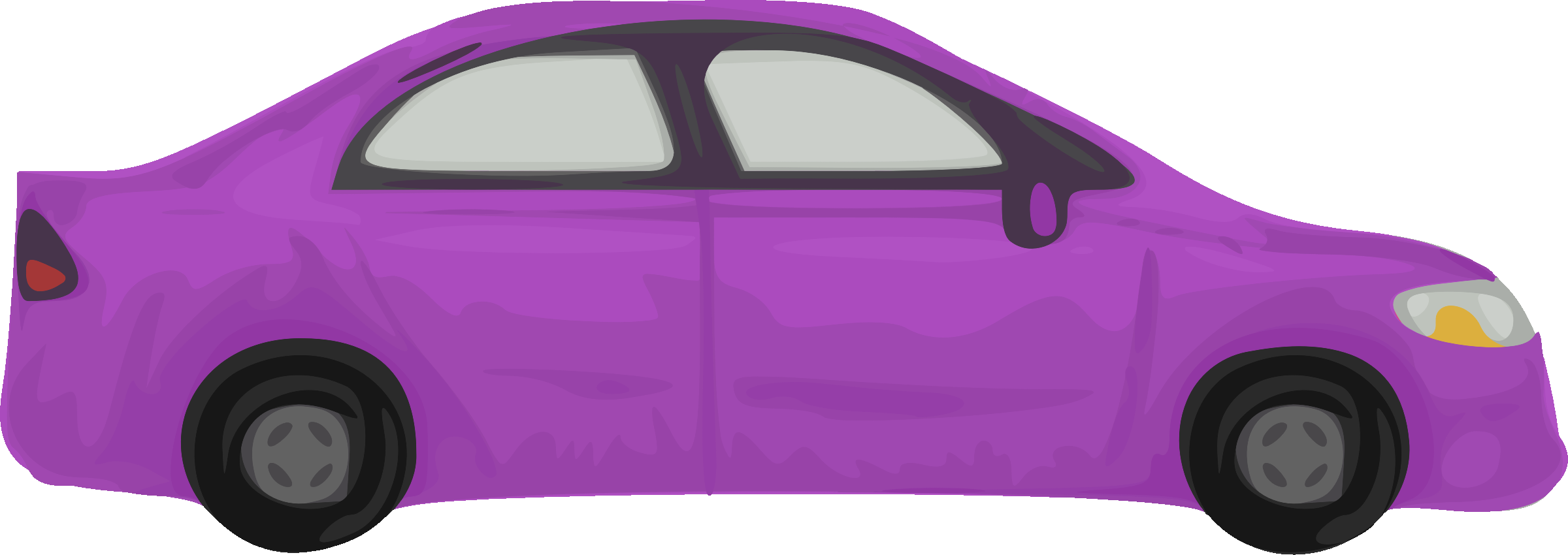 Clipart of car jpg freeuse download Clipart - Rough car (purple) jpg freeuse download