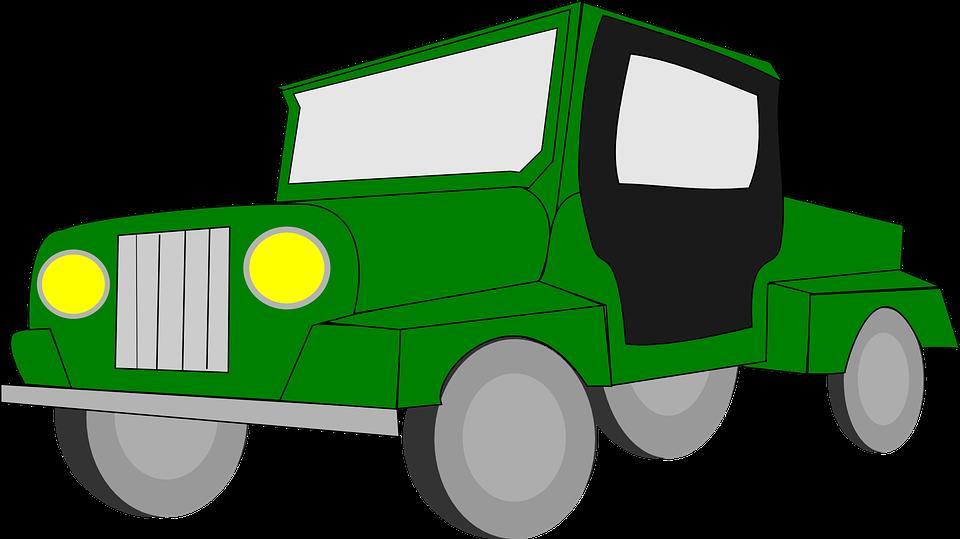 Clipart car driving jpg transparent library Jeep clipart landi ~ Frames ~ Illustrations ~ HD images ~ Photo ... jpg transparent library