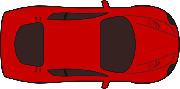 Clipartfest red sports top. Clipart car from above