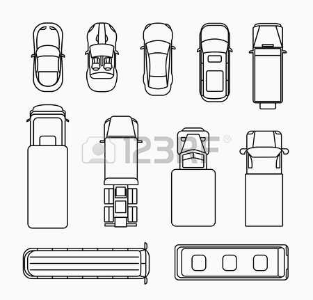 Clipart car inspection sheet picture black and white Black and white clipart car inspection sheet with different views ... picture black and white