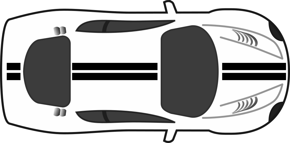 Top of car clipart