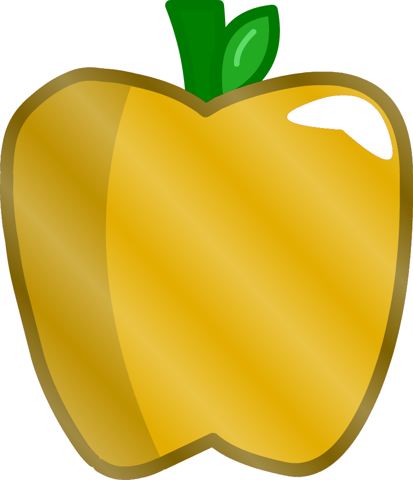 Clipart of caramel apple svg transparent library Image - Golden Apple.png | Inanimate Objects Wikia | FANDOM powered ... svg transparent library