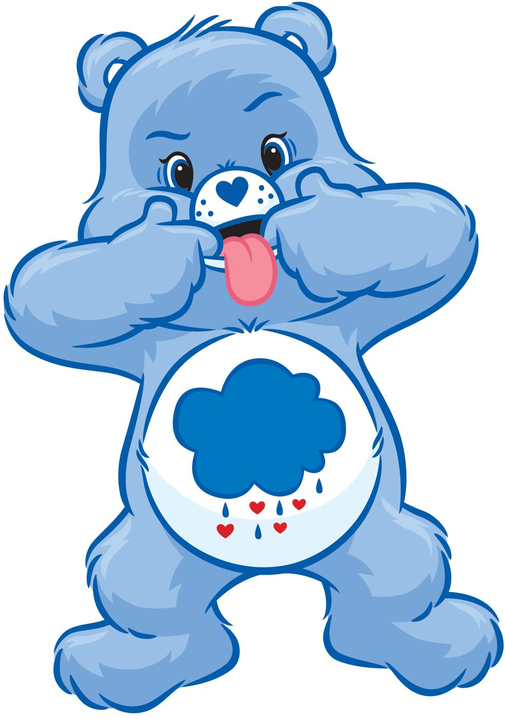Clipart care bears clip art free library Grumpy Bear at his best! Lol! | Meet the Care Bears | Care bear ... clip art free library