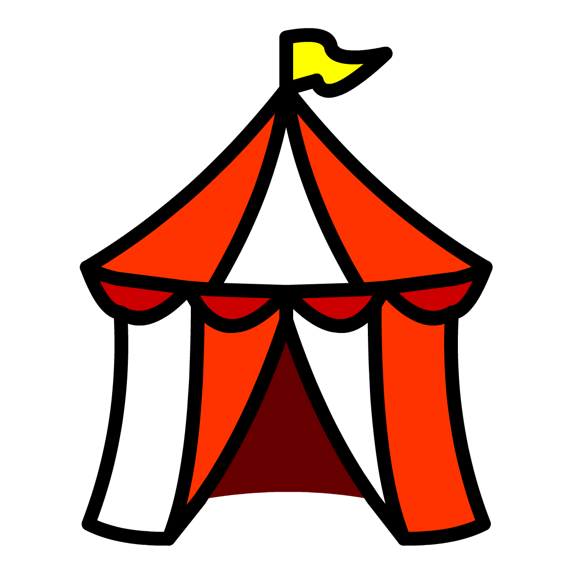 Clipart carnival tent graphic transparent download Free Circus Tent Pics, Download Free Clip Art, Free Clip Art on ... graphic transparent download